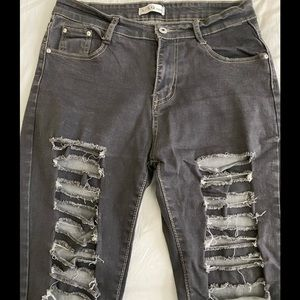 Black Jeans Strech  very comfortable